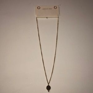 Cute gold necklace from American Eagle :)